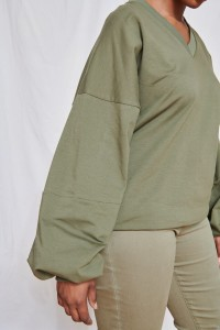 Bluza Aina 2 Plus Size Army Green